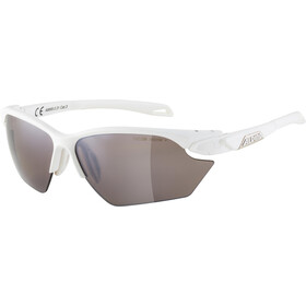 Alpina Twist Five HR S HM+ Glasses, white matt/black mirror